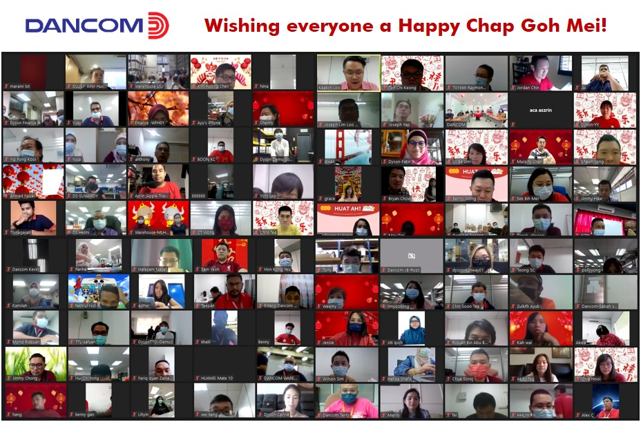 First-ever virtual Chinese New Year luncheon with Dancom Group