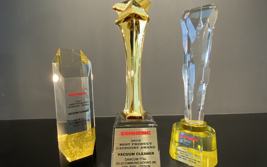 """Dancom Group – Winners of """"Best Product Category – Vacuum Cleaner"""" 2020 from Senheng."""
